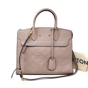 Louis Vuitton Pont Neuf MM Empreinte Shoulder Bag